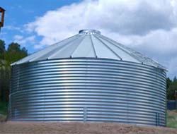 corrugated tank